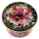 Mixed Flower Round Box top view